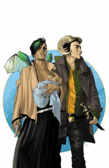 Art from Brian K. Vaughn's Saga (Image).