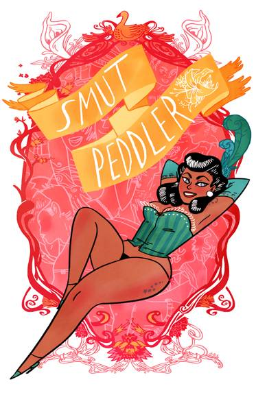 Smut Peddler art by Emily Carroll
