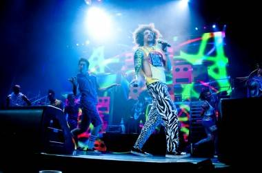 LMFAO Vancouver concert photo