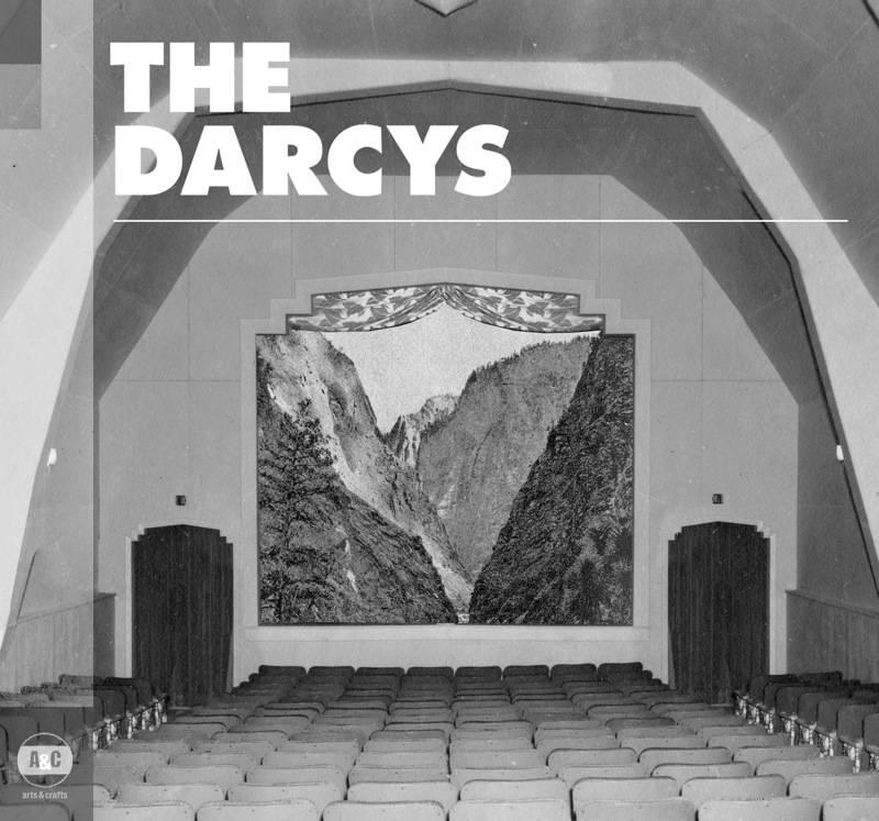The Darcys self-titled album cover art