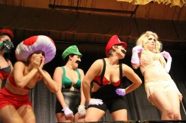 Video Game Burlesque Vancouver photo