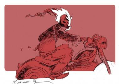 Ghost Rider art by Brandon Graham