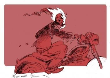 Ghost Rider art by Brandon Graham
