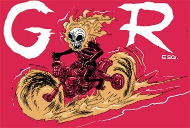 Ghost Rider art by James Stokoe