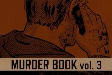 Murder Book 3 art.