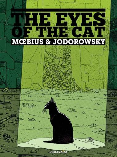 Eyes of the Cat book cover by Moebius
