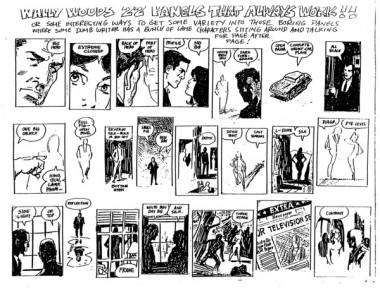 Wally Wood's 22 Panels That Always Work illustration