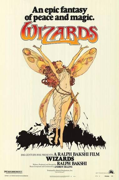Wizards movie poster