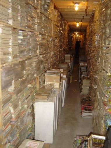 Comics warehouse
