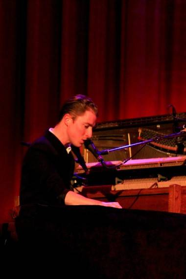 Nick Thorburn with Islands concert photo