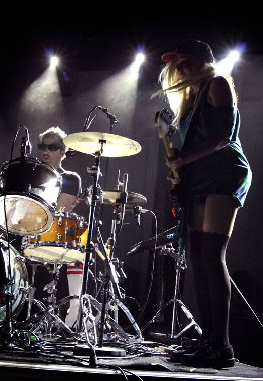 The Ting Tings at the Commodore Ballroom photo