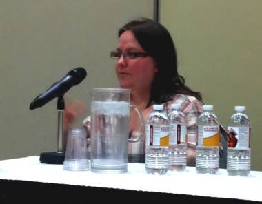 Pia Guerra at Calgary Expo 2012 photo