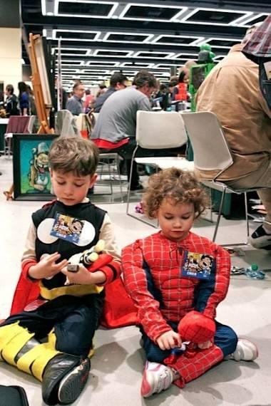 kids at ECCC 2012