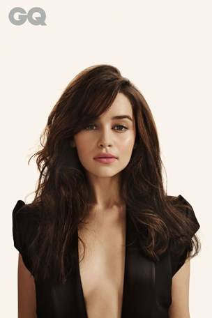 emilia clarke in gq the snipe news