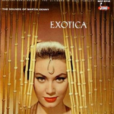 Exotica album cover Martin Denny music