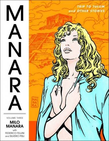 Manara Library Vol 3 cover image.