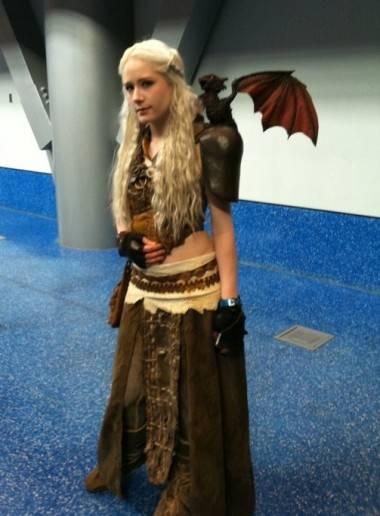 Daenerys Targaryen cosplayer Fan Expo Vancouver 2012
