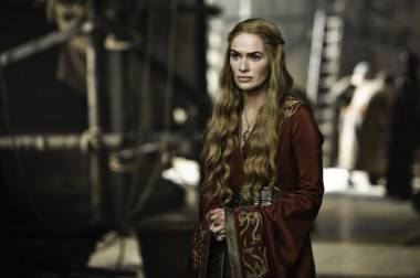 game of thrones season 2 premiere Lena Headey as Cersei Lannister