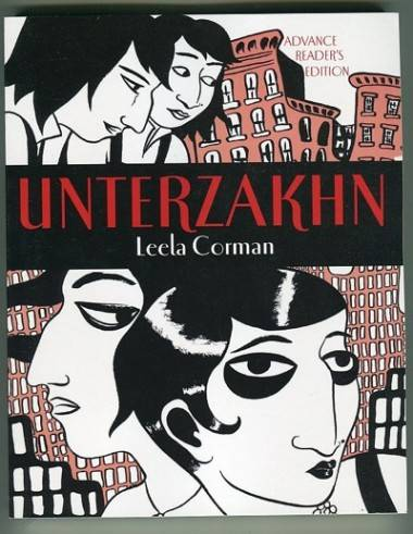Unterazakhn graphic novel cover