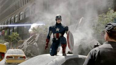 Captain America Avengers movie image