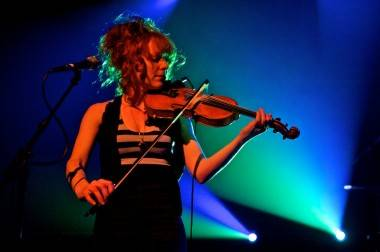 Miranda Mulholland with Great Lake Swimmers photo