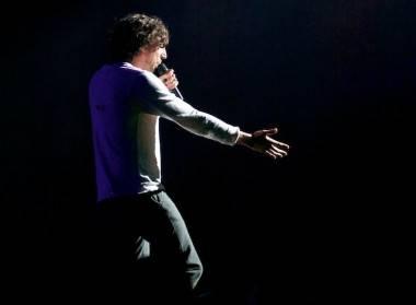 Gary Lightbody with Snow Patrol concert photo