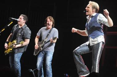 Van Halen at Rogers Arena Vancouver