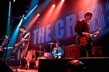 The Cribs at Venue Vancouver photo