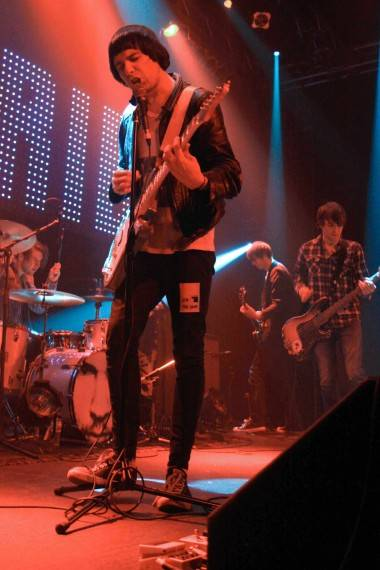 Ryan Jarman with The Cribs Vancouver concert photo
