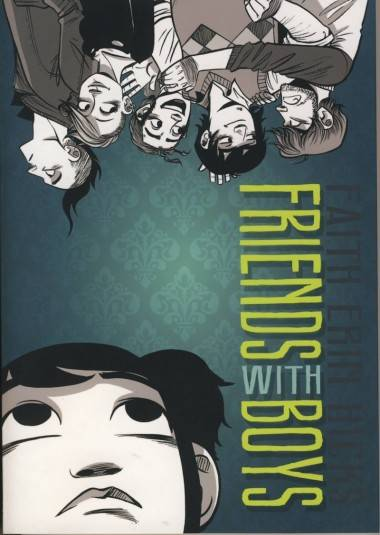 Faith Erin Hicks' Friends With Boys graphic novel book cover