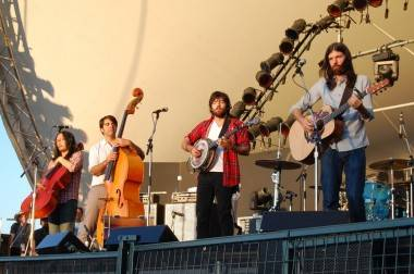 Avett Brothers concert photo
