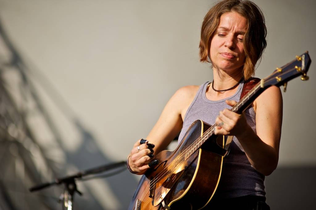 Ani DiFranco at the Vancouver Folk Music Festival 2012