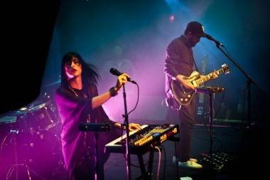 Phantogram Vancouver concert photo