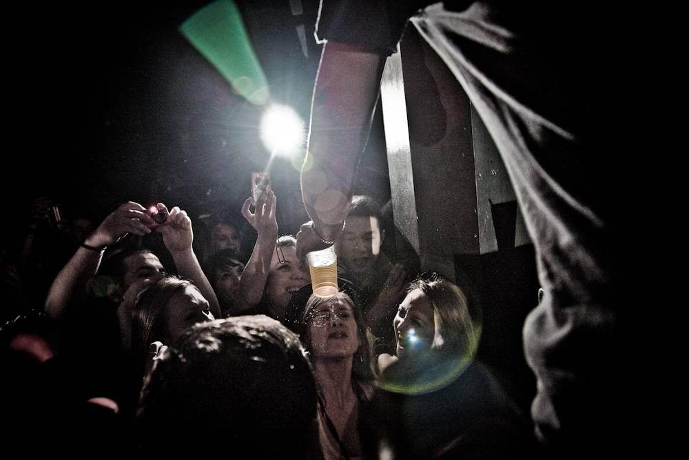 Kid Cudi and audience photo