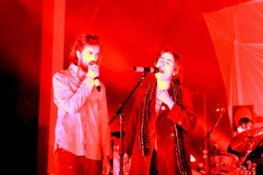 Edward Sharpe concert photo