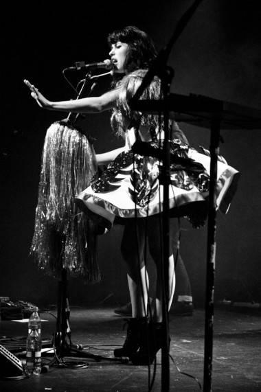Kimbra concert photo