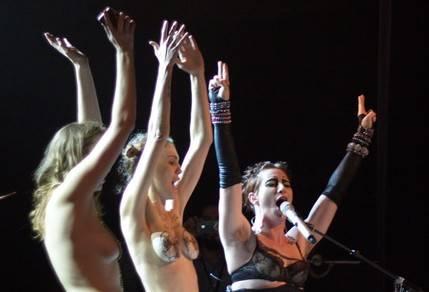 Amanda Palmer concert photo