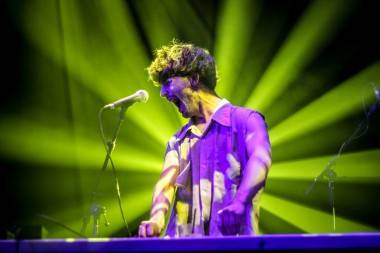 Doldrums live concert photo