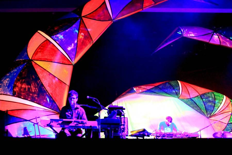 Animal Collective at Malkin Bowl photo
