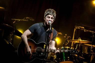 Noel Gallagher concert photo