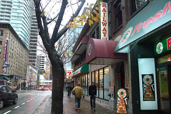 Railway Club Vancouver exterior image