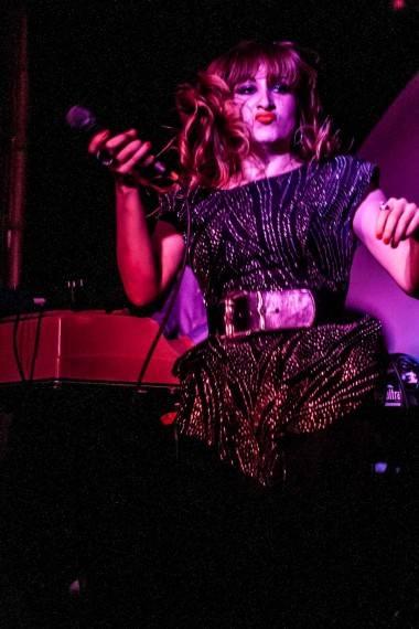 Tiffany Roth with Midnight Magic concert photo