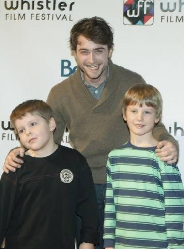 Daniel Radcliffe at the 2012 Whistler Film Festival