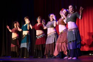 April Rose bellydance Vancouver photo
