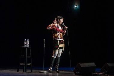 Margaret Cho at The Vancouver Centre for Performing Arts - photo Christine Redmond