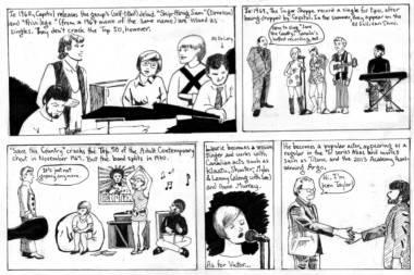 Sugar Shoppe comic