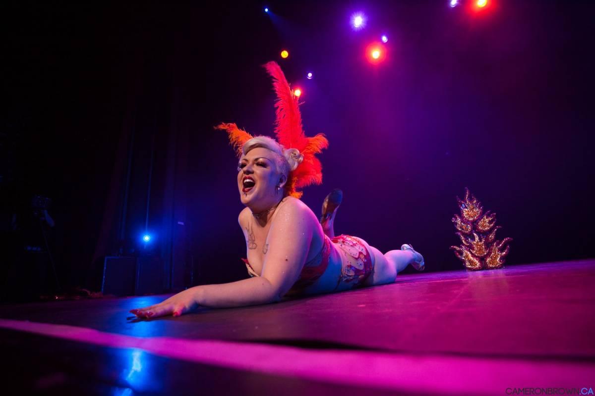 Vancouver Burlesque Festival 2013 Vogue Theatre photos