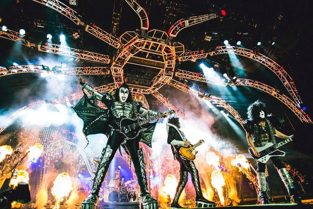 Kiss Monster Tour Rogers Arena Vancouver