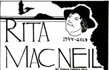 Rita MacNeil comic strip