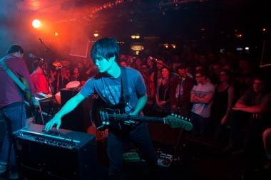 The Dodos Carrier tour at the Biltmore Cabaret, Vancouver, Sept. 9 2013. Kirk Chantraine photo